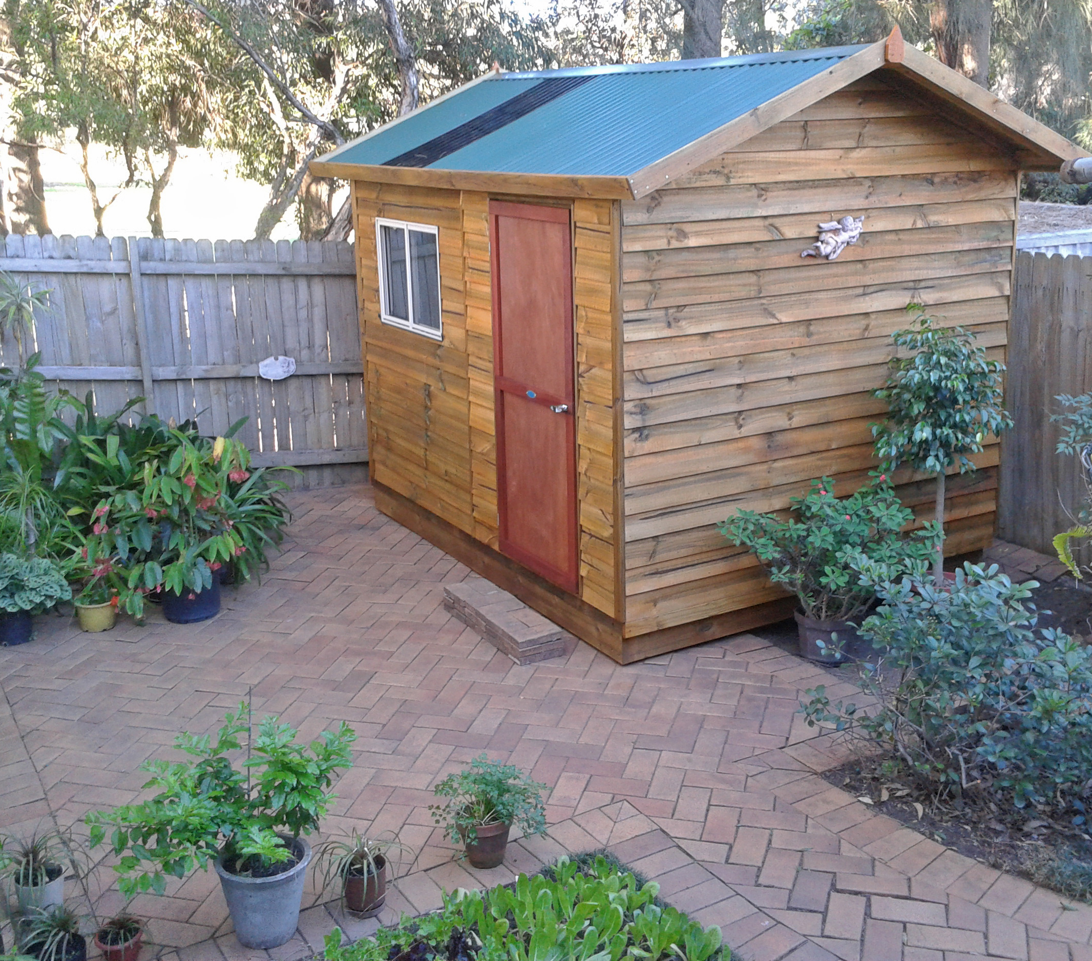 Small Garden Shed Aarons Outdoor Living - garden shed landscaping